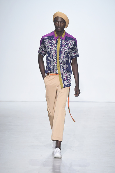 Beret「General Idea - Runway - NYFW: Men's July 2017」:写真・画像(11)[壁紙.com]