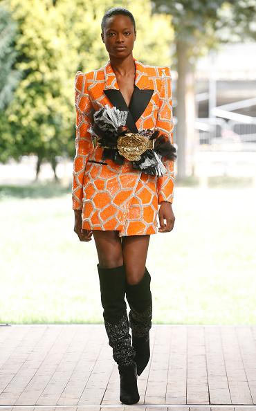 Mini Dress「Redemption : Runway - Paris Fashion Week - Haute Couture Fall/Winter 2019/2020」:写真・画像(4)[壁紙.com]