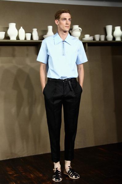 Sandal「Carven : Runway - Paris Fashion Week - Menswear S/S 2014」:写真・画像(6)[壁紙.com]