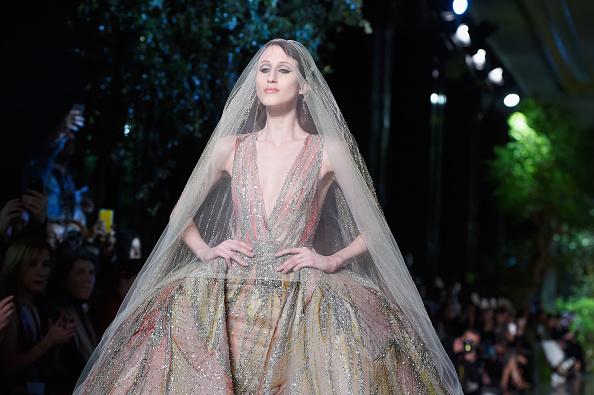 Elie Saab - Designer Label「Elie Saab : Runway - Paris Fashion Week - Haute Couture S/S 2015」:写真・画像(13)[壁紙.com]