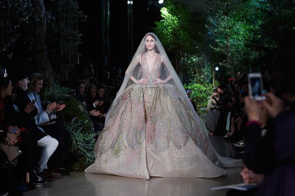 Elie Saab - Designer Label「Elie Saab : Runway - Paris Fashion Week - Haute Couture S/S 2015」:写真・画像(19)[壁紙.com]