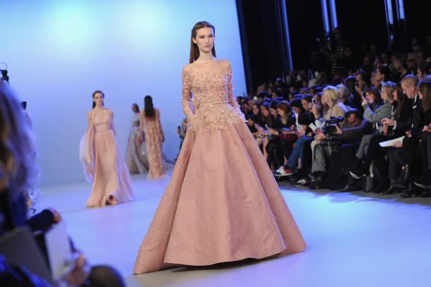 Elie Saab : Runway - Paris Fashion Week - Haute Couture S/S 2014:ニュース(壁紙.com)