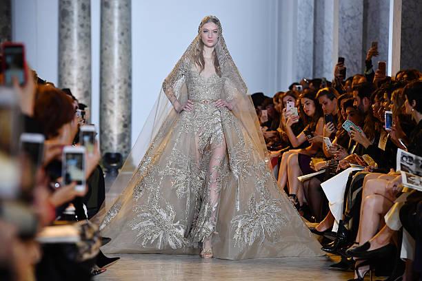 Elie Saab : Runway - Paris Fashion Week - Haute Couture Spring Summer 2017:ニュース(壁紙.com)