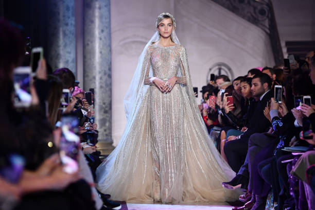 Elie Saab - Designer Label「Elie Saab : Runway - Paris Fashion Week - Haute Couture Spring Summer 2018」:写真・画像(18)[壁紙.com]