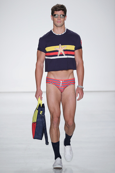 Fashion Model「Parke & Ronen Spring 2017 - New York Fashion Week Men's - Runway」:写真・画像(10)[壁紙.com]