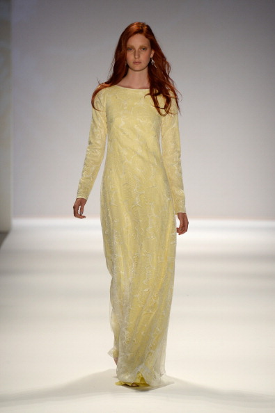 Yellow Dress「Mercedes-Benz Fashion Week Spring 2014 - Official Coverage - Best Of Runway Day 1」:写真・画像(12)[壁紙.com]