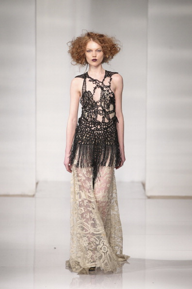 Lace Dress「Manufacture New York's Design Incubator - Presentation - Mercedes-Benz Fashion Week Fall 2014」:写真・画像(12)[壁紙.com]