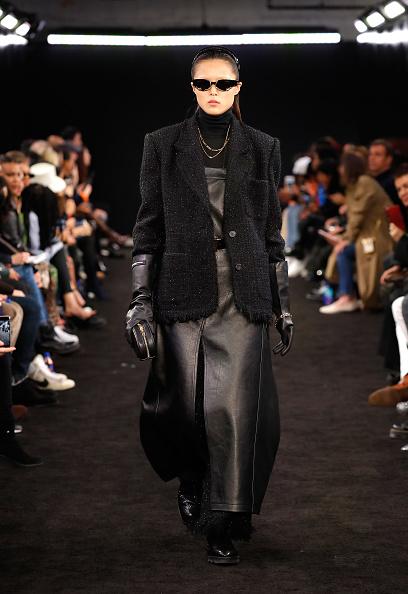 Leather Dress「Alexander Wang Fall 2019 - Runway」:写真・画像(7)[壁紙.com]