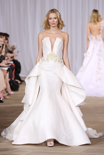 Wedding Dress「Ines Di Santo Fall/Winter 2016 Couture Bridal Collection - Runway」:写真・画像(4)[壁紙.com]