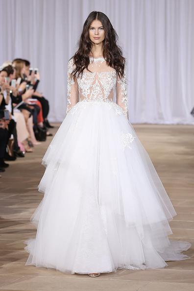 Wedding Dress「Ines Di Santo Fall/Winter 2016 Couture Bridal Collection - Runway」:写真・画像(9)[壁紙.com]