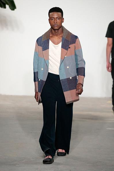 Multi Colored Coat「Palmiers Du Mal - Runway - NYFW: Men's」:写真・画像(18)[壁紙.com]