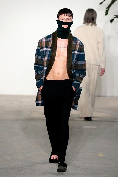 Multi Colored Coat「Palmiers Du Mal - Runway - NYFW: Men's」:写真・画像(19)[壁紙.com]