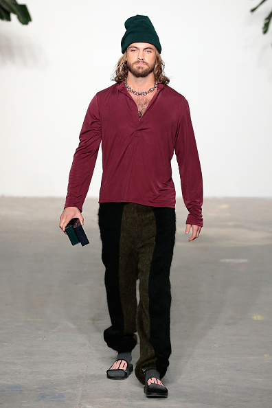 Beard「Palmiers Du Mal - Runway - NYFW: Men's」:写真・画像(13)[壁紙.com]