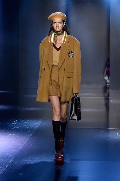 Beret「Tmall Cool China : Runway - Paris Fashion Week - Womenswear Spring Summer 2020」:写真・画像(15)[壁紙.com]