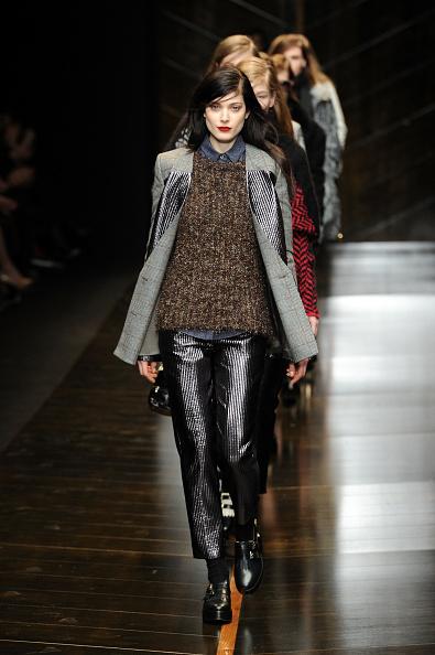 Gray Jacket「Trussardi - Runway - Milan Fashion Week Womenswear Autumn/Winter 2014」:写真・画像(19)[壁紙.com]