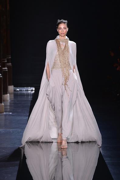 Multichain Necklace「Loris Azzaro : Runway - Paris Fashion Week - Haute Couture S/S 2015」:写真・画像(11)[壁紙.com]