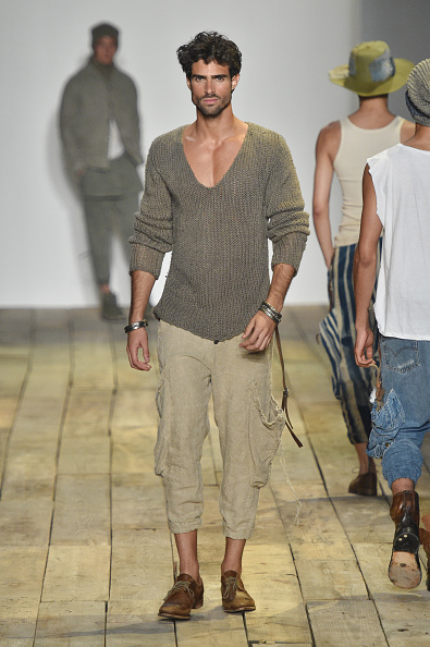 Males「Greg Lauren - Runway - New York Fashion Week: Men's S/S 2016」:写真・画像(4)[壁紙.com]