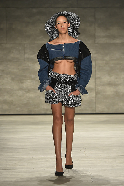 Cropped Jacket「VFILES - Runway - Mercedes-Benz Fashion Week Fall 2015」:写真・画像(19)[壁紙.com]