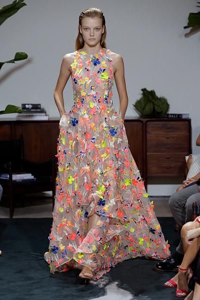 Floral Pattern「Jason Wu - Runway - September 2016 - New York Fashion Week」:写真・画像(19)[壁紙.com]