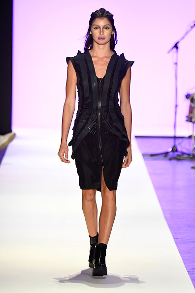 Leather Boot「Jeans For Refugees By Johny Dar - Runway - September 2016 - New York Fashion Week: The Shows」:写真・画像(6)[壁紙.com]