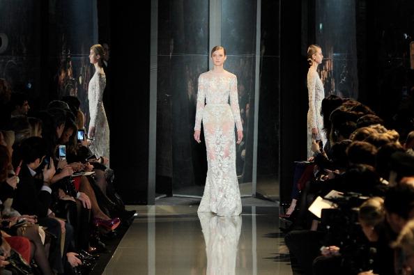 Pavillon Cambon Capucines「Elie Saab: Runway - Paris Fashion Week Haute-Couture Spring/Summer 2013」:写真・画像(12)[壁紙.com]