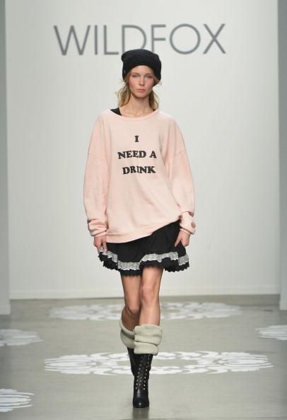 Wildfox Couture「Wildfox - Runway - Mercedes-Benz Fashion Week Fall 2014」:写真・画像(4)[壁紙.com]