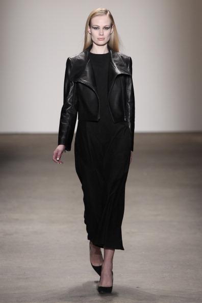 Leather Jacket「Rolando Santana - Runway - Mercedes-Benz Fashion Week Fall 2014」:写真・画像(10)[壁紙.com]