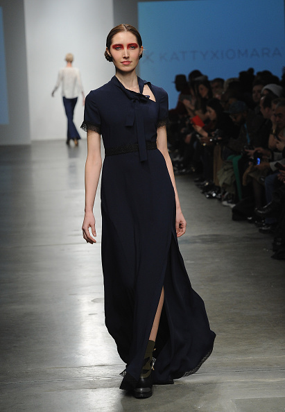 Chelsea Piers「Katty Xiomara - Runway - Mercedes-Benz Fashion Week Fall 2015」:写真・画像(15)[壁紙.com]