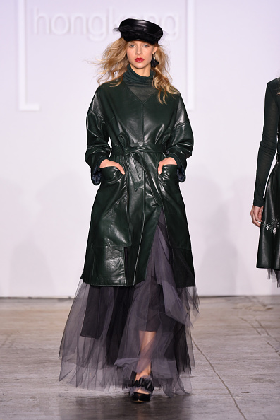 Leather Jacket「Fashion Hong Kong FW19 Collections: 112 MountainYam, Anveglosa, and Heaven Please+ - Runway」:写真・画像(2)[壁紙.com]