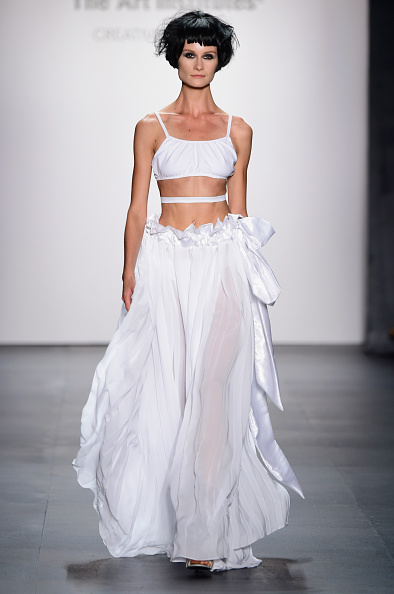 Flared Skirt「The Art Institutes - Runway - Spring 2016 New York Fashion Week: The Shows」:写真・画像(6)[壁紙.com]
