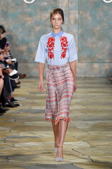 縞模様「Tory Burch - Runway - Spring 2016 New York Fashion Week」:写真・画像(19)[壁紙.com]