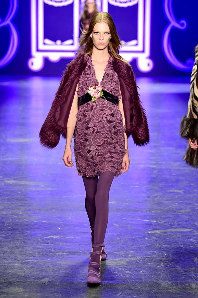Purple Shoe「Anna Sui - Runway - Fall 2016 New York Fashion Week: The Shows」:写真・画像(7)[壁紙.com]