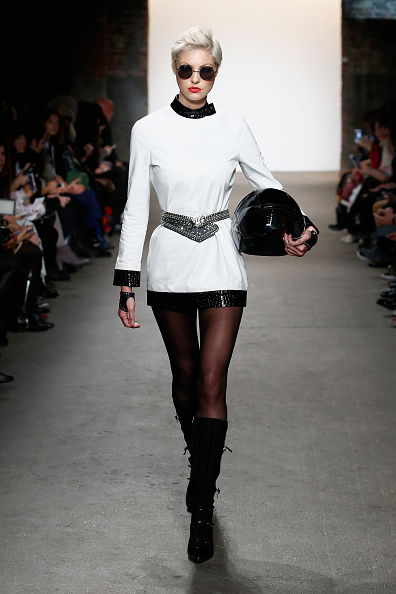 Leather Boot「Nolcha Shows During New York Fashion Week Women's Fall/Winter 2016 Presented By Neogrid - Planet Zero Motorsports」:写真・画像(7)[壁紙.com]