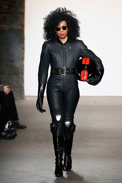 Black Jumpsuit「Nolcha Shows During New York Fashion Week Women's Fall/Winter 2016 Presented By Neogrid - Planet Zero Motorsports」:写真・画像(11)[壁紙.com]