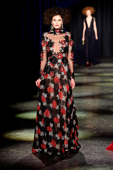 Floral Pattern「Naeem Khan - Runway - Fall 2016 New York Fashion Week: The Shows」:写真・画像(15)[壁紙.com]