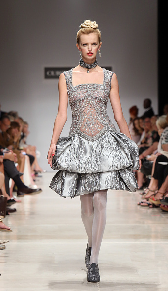 AltaRoma AltaModa「Curiel Couture - Runway - AltaRoma AltaModa Fashion Week Fall/Winter 2015/16」:写真・画像(4)[壁紙.com]