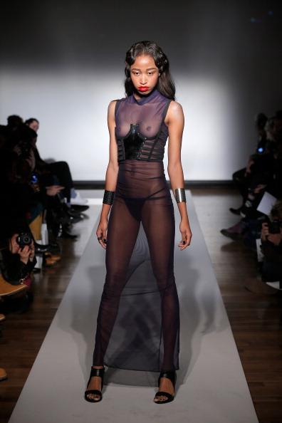 Thong「Chromat - Runway - MADE Fashion Week Fall 2014」:写真・画像(10)[壁紙.com]