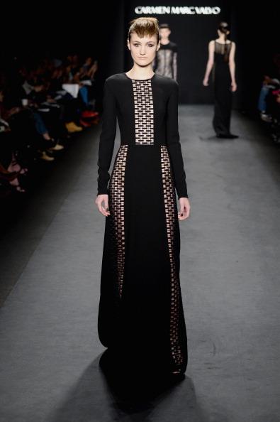 Incidental People「Carmen Marc Valvo - Runway - Mercedes-Benz Fashion Week Fall 2014」:写真・画像(9)[壁紙.com]