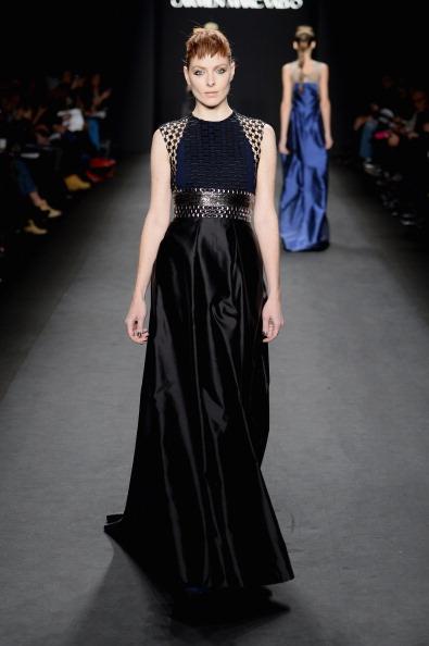 Incidental People「Carmen Marc Valvo - Runway - Mercedes-Benz Fashion Week Fall 2014」:写真・画像(8)[壁紙.com]