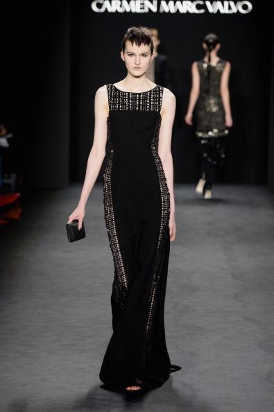 Incidental People「Carmen Marc Valvo - Runway - Mercedes-Benz Fashion Week Fall 2014」:写真・画像(10)[壁紙.com]