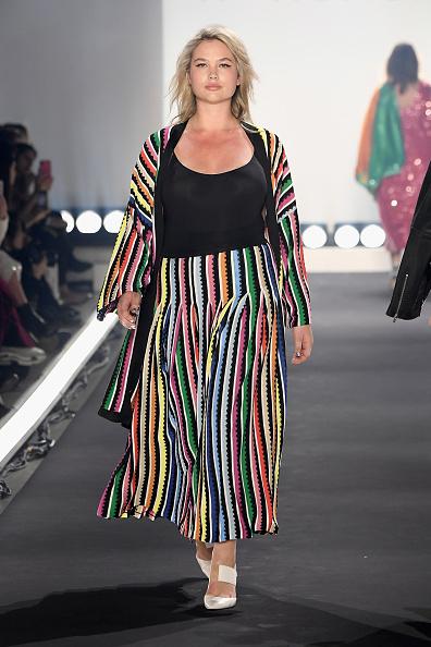 Multi Colored Coat「11 Honore - Runway - February 2019 - New York Fashion Week: The Shows」:写真・画像(0)[壁紙.com]
