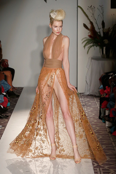 Sheer Fabric「Anna Francesca - Fashion Gallery NYFW - Runway」:写真・画像(6)[壁紙.com]