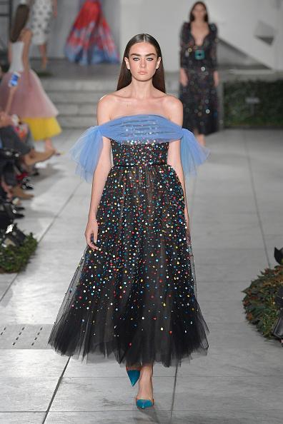 Tulle Netting「TRESemme Carolina Herrera - Runway - September 2017 - New York Fashion Week」:写真・画像(18)[壁紙.com]