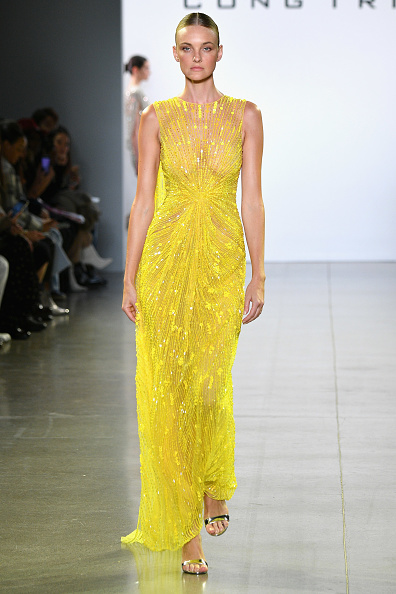 Yellow「Cong Tri - Runway - February 2019 - New York Fashion Week: The Shows」:写真・画像(6)[壁紙.com]