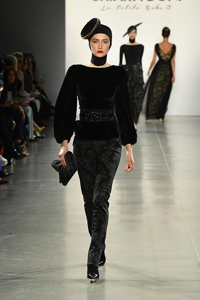 Black Shoe「Chiara Boni La Petite Robe - Runway - February 2019 - New York Fashion Week: The Shows」:写真・画像(19)[壁紙.com]