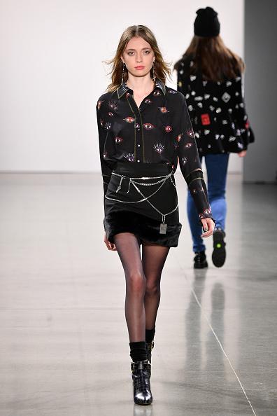 Fur Trim「Nicole Miller - Runway - February 2019 - New York Fashion Week: The Shows」:写真・画像(5)[壁紙.com]