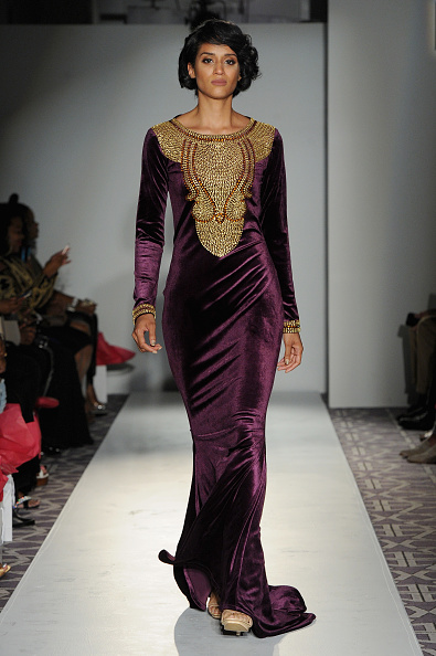 Form Fitted Dress「Kaftan Citra - Fashion Gallery NYFW - Runway」:写真・画像(16)[壁紙.com]