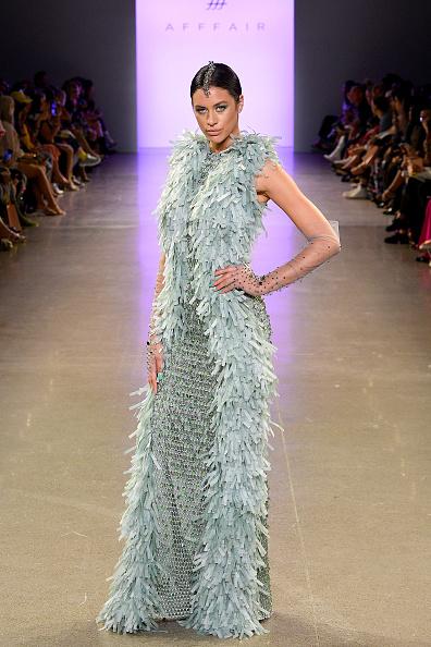 Textured Effect「Afffair S/S20 - Runway - September 2019 - New York Fashion Week: The Shows」:写真・画像(1)[壁紙.com]