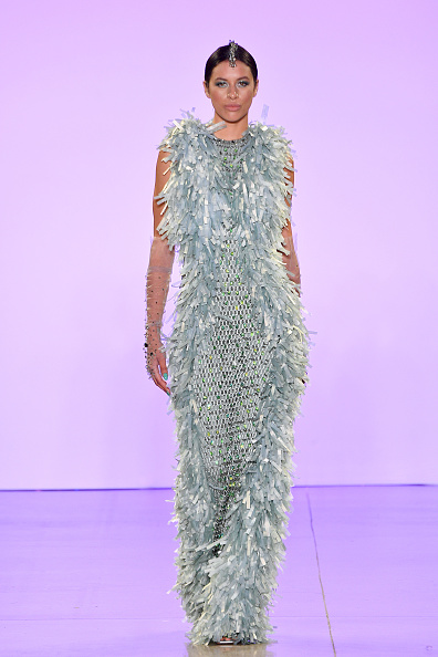 Textured Effect「Afffair S/S20 - Runway - September 2019 - New York Fashion Week: The Shows」:写真・画像(19)[壁紙.com]