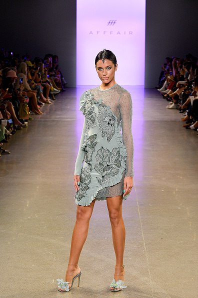 Textured Effect「Afffair S/S20 - Runway - September 2019 - New York Fashion Week: The Shows」:写真・画像(16)[壁紙.com]